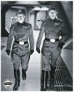 Imperial officers...