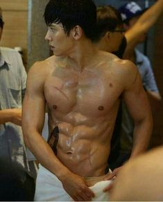 Clearer view of his abs Jim chang wook
