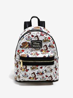 Giveaway: Beauty and The Beast Mini-Backpack
