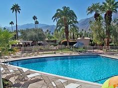 Palm Springs, CA: Enjoy this one bedroom Palm Springs condo at the famous Ocotillo Lodge, only minutes from the restaurants, casino and golf courses of downtown Palm Sp.