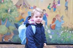 Prince George starts nursery school and is officially the cutest student ever!