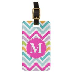 Modern Watercolor Pink And Purple Floral Pattern Leather Luggage Tags Personalized Extra Address Cards With Privacy Flap