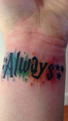 My Harry potter tattoo! Snape tattoo. Always tattoo. <3