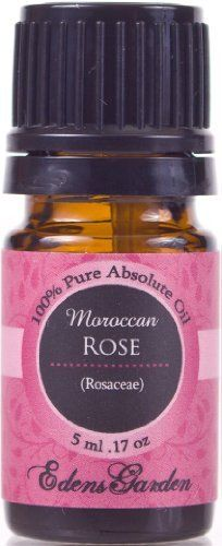 Rose (Moroccan) 100% Pure Therapeutic Grade Absolute Oil- 5 ml by Edens Garden. Save 52 Off!. $33.50