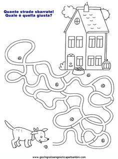 Free Simple Maze Printables For Preschoolers And Kindergartners - Tulamama Preschool Colors, Preschool Art, Kindergarten Activities, Printable Mazes, Free Printable Coloring Pages, Printables, Logic Games For Kids, Educational Games For Kids, Practical Parenting