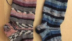 Anleitung Socken stricken - auch für Anfänger