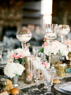 """Whether you're saying """"I do"""" in a lush garden or modern loft, let there be light with these 11 romantic ways to fill your wedding with candlelight."""