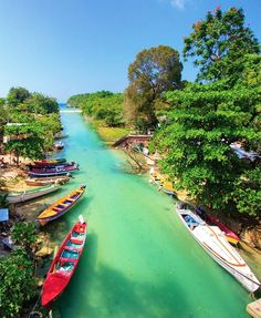 41 Spectacular Places Around the World. White River, Ocho Rios, Jamaica #travel #world #Jamaica