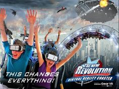 Samsung and Six Flags partner to launch virtual reality roller coasters at 9 U.S. Amusement parks