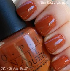 perfect for fall...and who doesn\'t love a good burnt orange shade ...