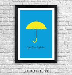 Poster How I Met Your Mother - Right Place