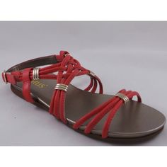bb3227d85be Lotus Liberty Coral Open-Toe Flat Sandal 4  Amazon.co.uk  Shoes   Bags