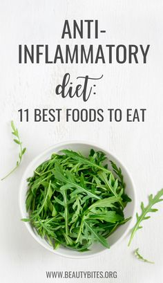 11 Best Anti-Inflammatory Foods On The Planet - Beauty Bites Clean Eating For Beginners, Clean Eating Recipes, Eating Clean, Diet Recipes, Best Anti Inflammatory Foods, Healthy Recepies, Filling Food, Good Foods To Eat, Low Cholesterol