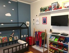 Loft, Bed, Furniture, Home Decor, Baby Room Boys, Dark Furniture, Shared Bedrooms, Interiors, Decoration Home
