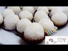 Rafaelo kuglice bez mleka u prahu Bajadera Recipe, Christmas Eve, Balls, Cake Recipes, Muffin, Gluten Free, Sweets, Cookies, Breakfast