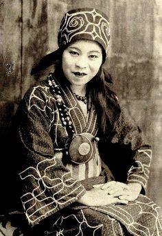 Ainu woman of old Hokkaido