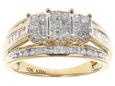 Enjoy exceptional value and unbeatable prices. Explore this Pre-Owned White Diamond Yellow Gold Ring from JTV today. Marquise Diamond, Gold Diamond Rings, Yellow Gold Rings, Diamond Engagement Rings, Diamond Earrings, White Gold, Bridal Rings, Wedding Rings, Gold Grill