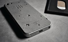 Luna Concrete iPhone Skin Protective Case | Cool Material