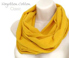 Shoply.com -Infinity Scarf Mustard Yellow. Only $20.00