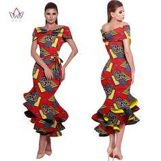 Ankara dress ,Ankara Gown, Dashiki Dress, African bazin Dress, African Styles,African fashion,African Fabric,African Clothing,African Clothing-OW656 - Owame