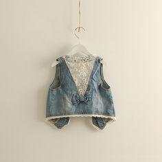 cute little denim vest  $8.60 (5) = $42.99