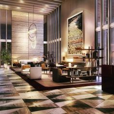 A glimpse into the future.....CGI impression of our Four Seasons lobby #fourseasons #miami #LA #newyork #hotels #homes #hospitality #hospitalityinteriors #detail #design #interiorachitecture #style #lifestyles #inspiration #retail #resorts #residences #restaurants #team #work #tarabernerdandpartners #tarabernerdlive by tarajbernerd #instashare #sharingiscaring #love #theirsuccessisoursuccess