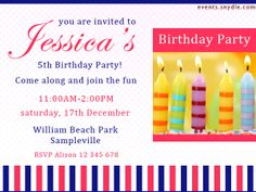 20 Top Birthday Invitations To Invite Your Guests – Festival Around the World 5th Birthday, Birthday Celebration, Birthday Cards, Happy Birthday, Birthday Parties, Printable Birthday Invitations, Invitation Cards, Popular Birthdays, Festivals Around The World