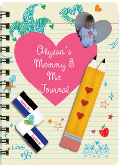 Mommy & Me journal!! Create a custom journal for your daughter and become penpals! What priceless memories this will have!!! My daughter loves this!