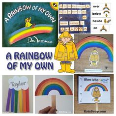 Story Time: A Rainbow of My Own rhymes, activities and crafts (including rainbow rhyme, if you're wearing ____)