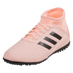 low priced ac85e e8fd9 adidas Predator Tango 18.3 TF Junior Turf Soccer Shoe Clear Orange Core  Black Trace