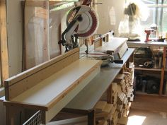 Miter saw station with micro adjustments - by David Dean @ LumberJocks.com ~ woodworking community