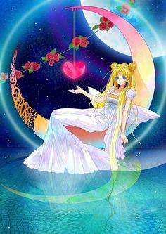 sailor moon (Princess Serenity) | Tumblr  wow, its my childhood memory