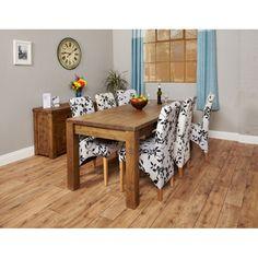 Heyford Rough Sawn Oak Furniture Extending Dining Table