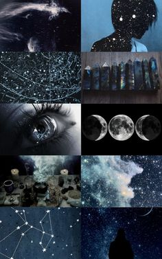 The antagonist of history - astronomy witch aesthetics (x) . - The antagonist of history – astronomy witch aesthetics (x) The antagonist of - Witch Aesthetic, Aesthetic Collage, Aesthetic Space, How To Be Aesthetic, Night Aesthetic, Aesthetic Bedroom, Fantasy Kunst, Moon Child, Ravenclaw