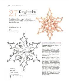 Free Crochet Snowflake Patterns, Crochet Stars, Christmas Crochet Patterns, Crochet Snowflakes, Crochet Stitches Patterns, Crochet Lace Edging, Crochet Mandala, Thread Crochet, Crochet Doilies