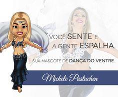 Por uma semana cheia de Paixão! Mascote da bailarina Michele Pastuchen, de Pinhais - PR