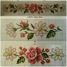 This Pin was discovered by Chr Cross Stitch Bookmarks, Beaded Cross Stitch, Cross Stitch Rose, Cross Stitch Borders, Cross Stitch Flowers, Cross Stitch Designs, Cross Stitching, Cross Stitch Embroidery, Cross Stitch Patterns