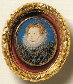 Miniature of Elizabeth I by Nicholas Hilliard, c.1580-84. (The Royal Collection)