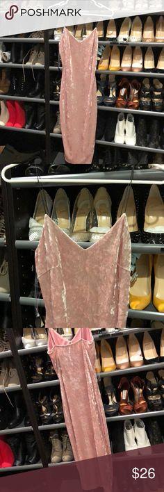 New mauve velvet dress From hot Miami styles new midi . hot miami styles Dresses Midi
