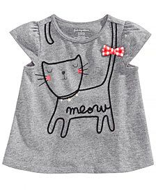 First Impressions Graphic Cotton T-Shirt, Baby Girls, Created for Macy's Kids & Baby - Shirts & Tees - Macy's Kids Outfits Girls, Girl Outfits, Baby Girl Fashion, Kids Fashion, Baby Boy Haircuts, Baby Doll Clothes, Diy Clothes, Girls Tees, Baby Kind