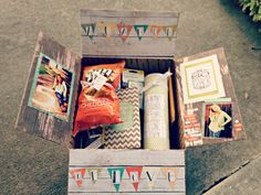 "Care package for Labor day! ""A Labor of Love"" all about service and love."