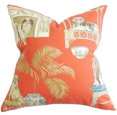 Zuzela Animal Print Cotton Throw Pillow