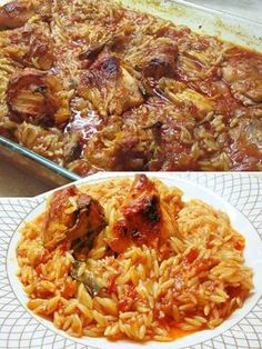 Cookbook Recipes, Meat Recipes, Chicken Recipes, Cooking Recipes, Greek Cooking, Cooking Time, Cheap Meals, Easy Meals, Salty Foods