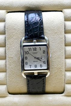 """Hermes Automatic watch  """"Like new but pre owned, Didn't really wear it much."""" Oh to be so casual!"""