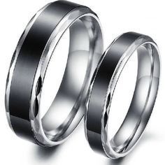 simple wedding bands his and hers