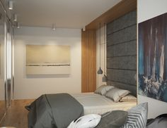 Although minimalistic studio apartment styles might seem easier to coordinate, there's limit to the creativity that a constricted space can inspire. Small space