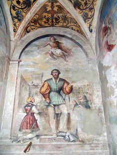 Legend of St. Obitius,fresco,unknown date