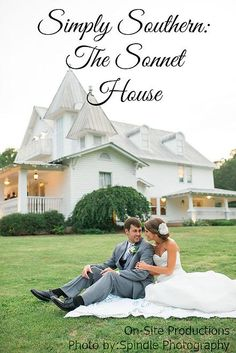 On-Site Wedding Receptions | Simply Southern: The Sonnet House #AlabamaWeddings #BirminghamWeddings #BirminghamWeddingVenues #SouthernWeddings #TheSonnetHouse