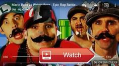 Mario Bros vs wright Brosepic rap battle of history  Recorded by DU Recorder Screen recorder for Android