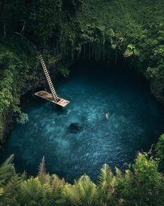 To Sua Ocean Trench Samoa - golden_an